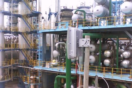 石化行业炼化行业无线监控
