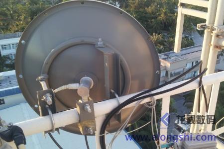 海岛港口无线微波监控联网