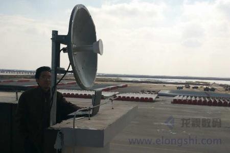 企业总部与分部远程无线微波组网